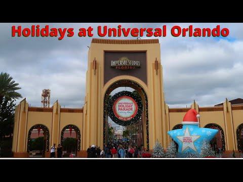 Holidays at Universal Orlando Resort 2019   Holiday Parade and more