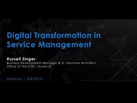 Digital Transformation in Service Management