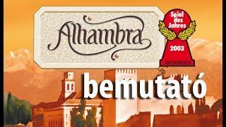Alhambra - társasjáték bemutató