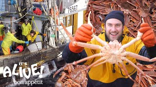 Brad Goes Crabbing In Alaska | It