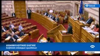 Κόντρα Καμμένου - Γεωργιάδη στη Βουλή