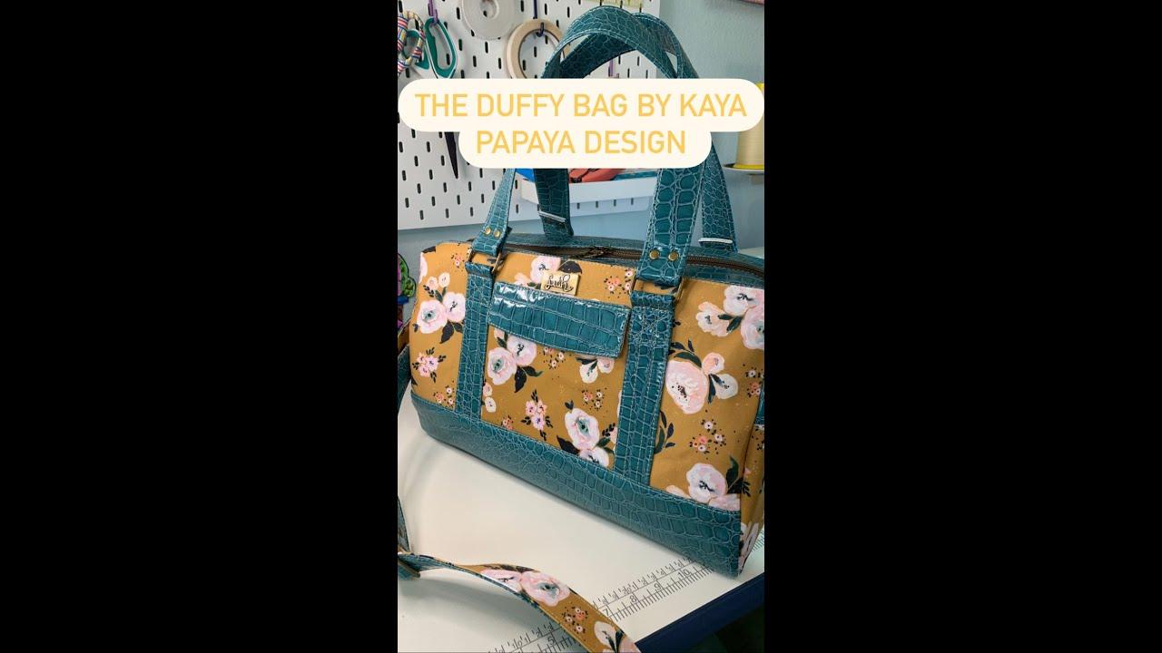 Download The Duffy Bag Pattern by Kaya Papaya Designs
