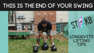 The END of Your Kettlebell Swing, Clean, or Snatch Set : DO THIS EVERY TIME