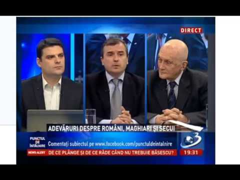 Punctul de intalnire Antena 3_ 12 feb 2013 Adevaruri romani maghiari secui