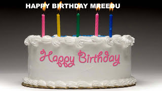 Mreedu - Cakes Pasteles_526 - Happy Birthday