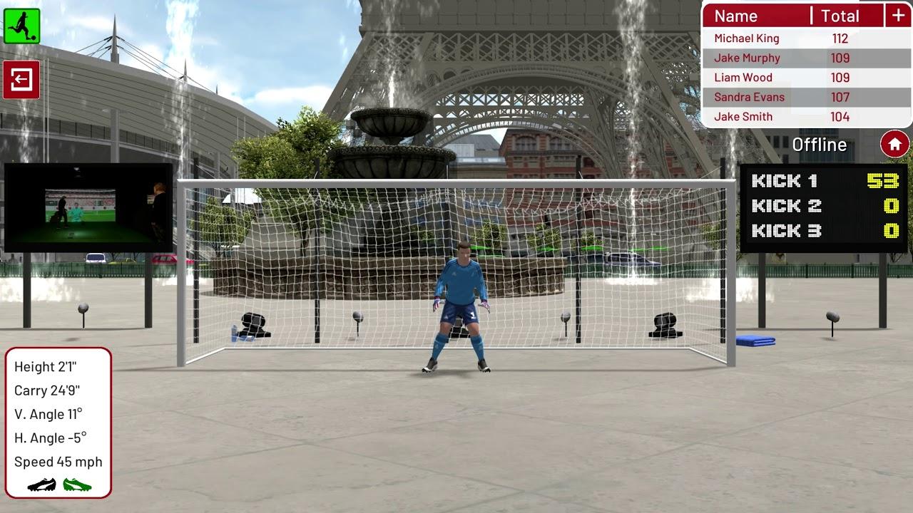 Football Environment   Paris   Goal Striker