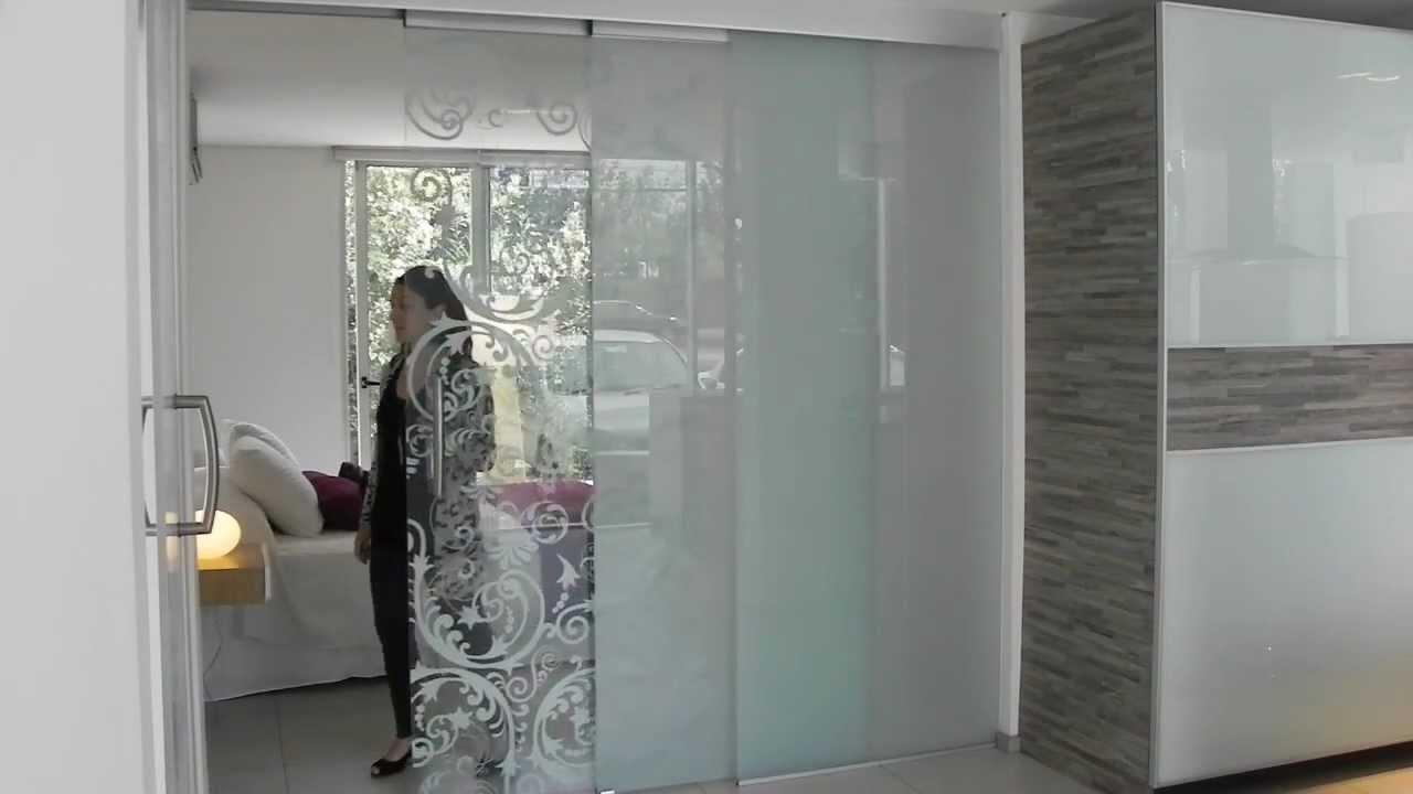 Twin TL VD  Sistema telescpico para puertas de vidrio