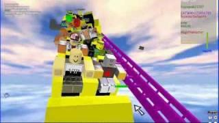 Failcoaster @ Boomerang Roller Coaster-Roblox