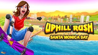Uphill Rush Santa Monica Bay - Android Gameplay (By Spil Games)