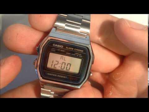 new style 19a8b e4e78 Retro Vintage Casio Watch Review A158WA