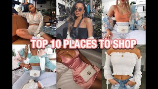 Top 10 INEXPENSIVE Places to Shop Online pt. 2