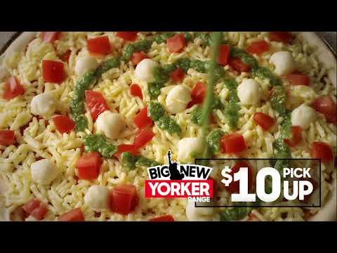 Pizza Hut - Big New Yorker Pizza $10 Pick Up