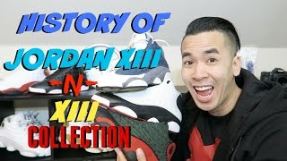 History of Air Jordan 13 | My Whole Jordan XIII Collection