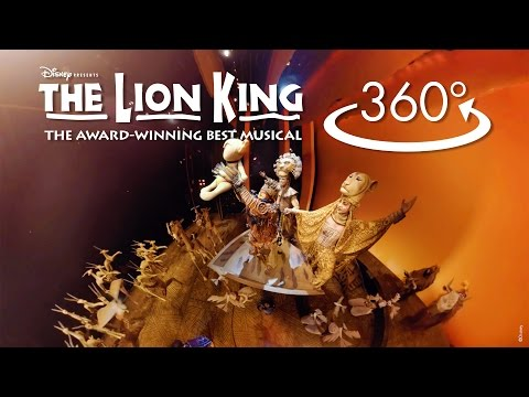 Circle of Life in 360º  THE LION KING on Broadway