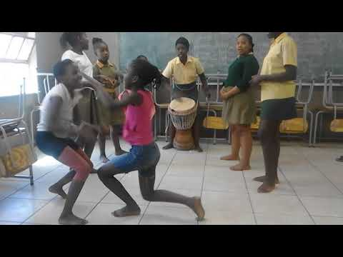 ChiNamibia African Dance Lesson