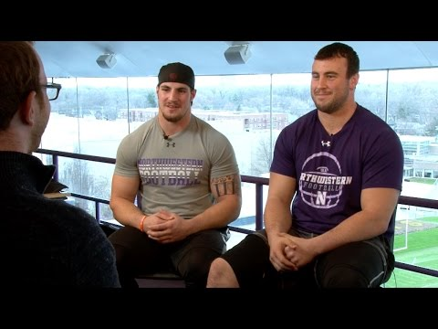 Northwestern's Vitale & Lowry excited for potential NFL opportunities