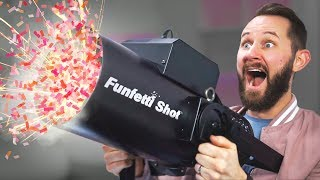 Confetti Cannon in the Office! | 10 Party Products thumbnail