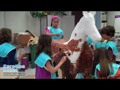 Shackleford Pony Project - Morehead Elementary School