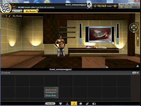 How To Change Your Imvu Default Room Tutorial 9 Youtube