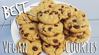 the best vegan chocolate chip cookies   itsmandarin