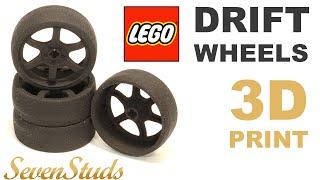 REVIEW: LEGO Compatible DRIFT Wheels / Обзор ЛЕГО совместимых ДРИФТ колес