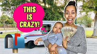 SURPRISE IN THE MAIL!! $$$ We couldn't believe it $$$
