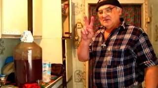 Как бродит сусло Каберне Совиньон со второго брожения мезги