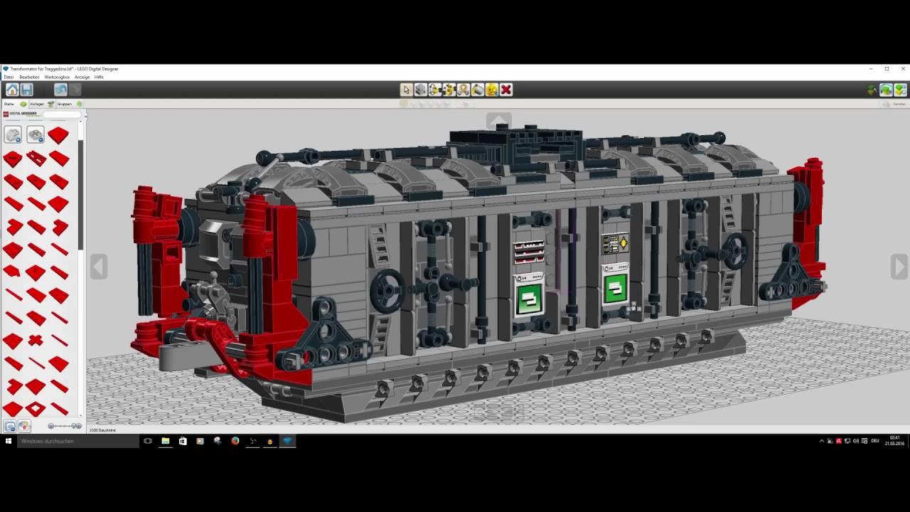 Sample Models In The Program Lego Digital