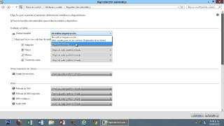 Windows 8 Tips Trucos Secretos  - 57 Desactivar-Cambiar Opciones de Reproducción Automática
