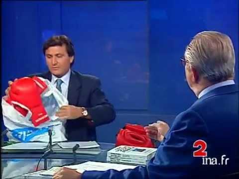 Des gants de boxe: Tapie - Le Pen