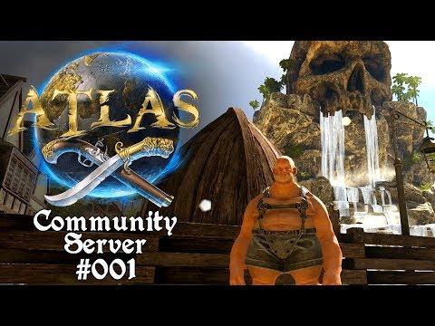 Das Abenteuer beginnt ⛵🌊 Atlas: Community Server #001 [Lets Play Deutsch]