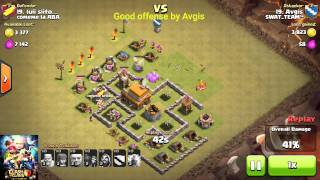 Clash of clans COC/Town Hall TH 5/good offense