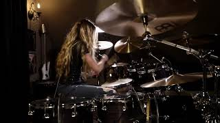 """3 Doors Down """"When I'm Gone"""" Drum Cover~Brooke C~"""