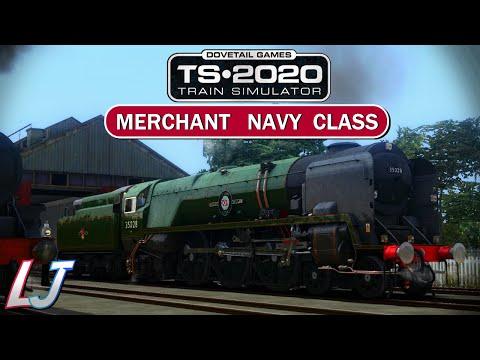 Train Simulator 2020 - Rebuilt Merchant Navy Class