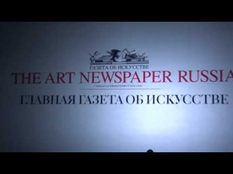 Рекламный ролик журнала The Art Newspaper