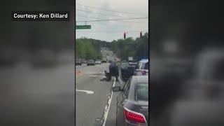 Video shows Gwinnett cop kicking handcuffed man
