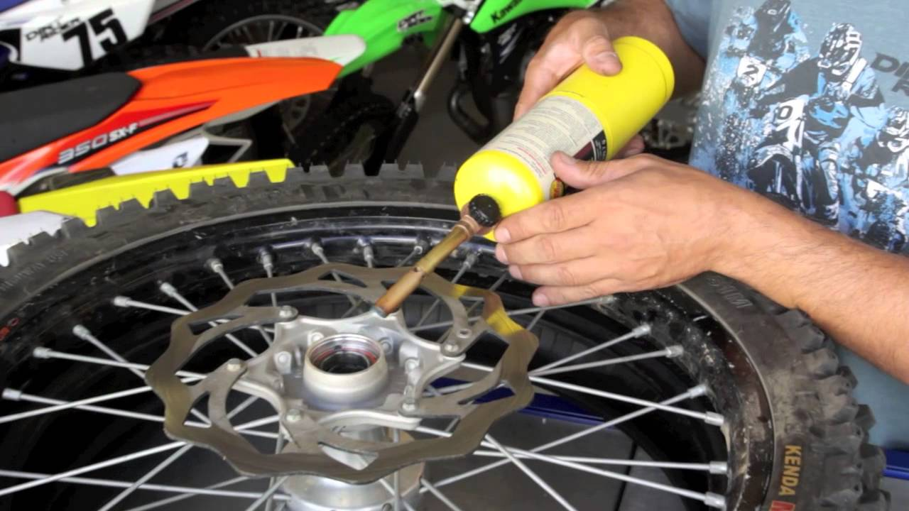 Dirt Rider Tech How To Change Wheel Bearings Youtube Bike Ttr 225 Wiring Diagram