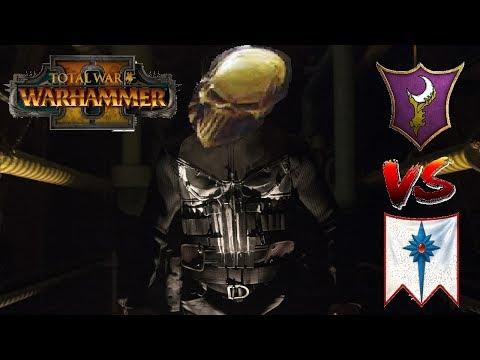 HAR GANETH PUNISHERS   Dark Elves vs High Elves: Total War Warhammer 2