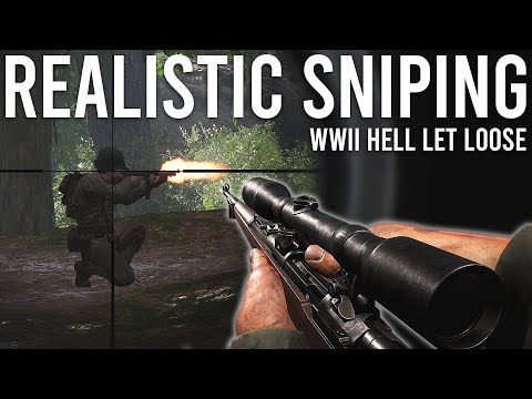 Realistic Sniping - Hell Let Loose