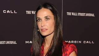 """Demi Moore Hospitalized For """"Exhaustion"""""""