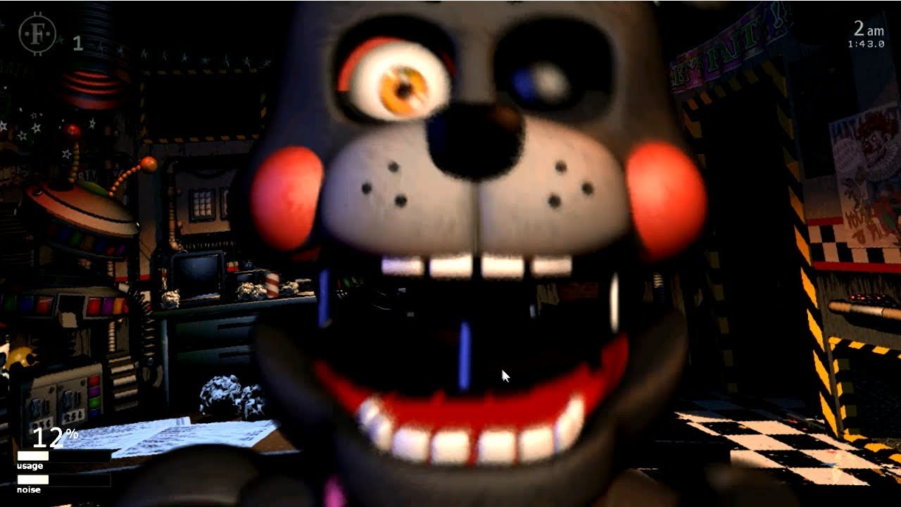 LEFTY JUMPSCARE!!! Ultimate Custom Night