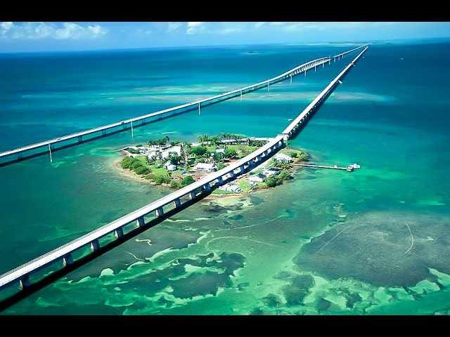 Florida Keys - Indian Key - South Beach, Miami - DJI Phantom 4 - Drone Video