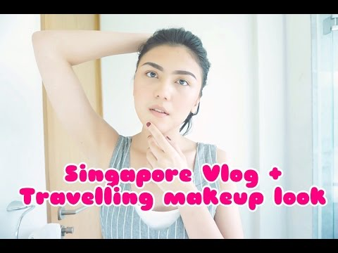 DERMATOLOGIST OF SINGAPORE + TRAVELLING MAKEUP LOOK : vlogging