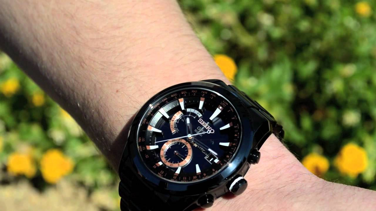 Seiko Astron Gps Solar Watch Sast001 Limited Edition At