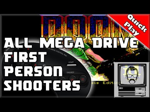 Mega Drive / Genesis First Person Shooters [Quick Play] | No