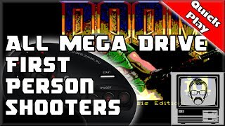 Mega Drive / Genesis First Person Shooters [Quick Play] | Nostalgia Nerd