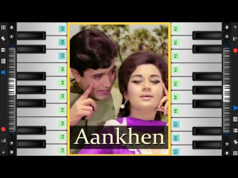 gulabi-aankhen-prefect-piano-cover-&-tutorial