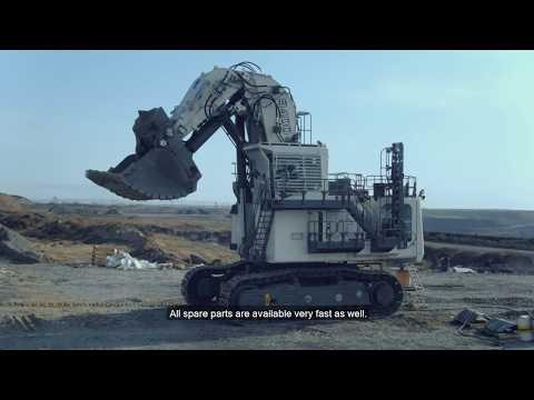 Liebherr - Mining Excavator R 9200 E In Russia