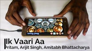 Gambar cover Ik Vaari Aa - Raabta - Arijit Singh (Real Drum App Cover) - By Vijay Yadavar.