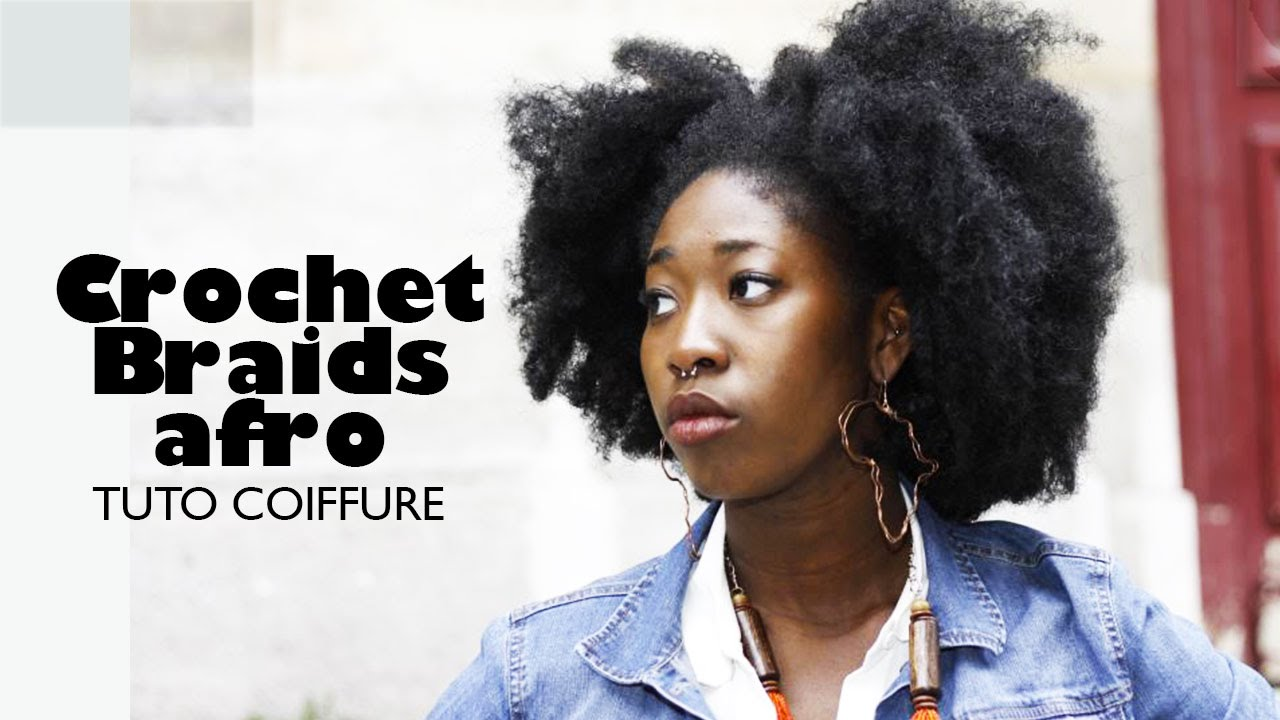 tuto coiffure i crochet braids afro youtube. Black Bedroom Furniture Sets. Home Design Ideas